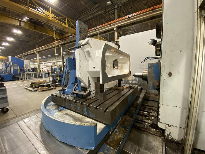 """UNION 5"""" CNC HORIZONTAL BORING MILL MODEL TC 130"""