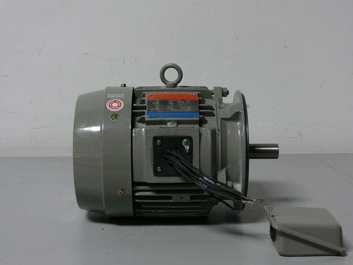 Used Tatung WH0034FCA 3HP Premium High Efficiency 3 Phase Induction Motor