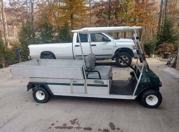 Used 2005 Club Car Carryall Turf 6 Gas-Powered