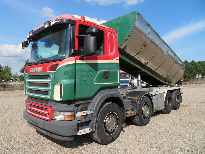 God 2008 Scania R500 8x4 HNZ Asfalttip