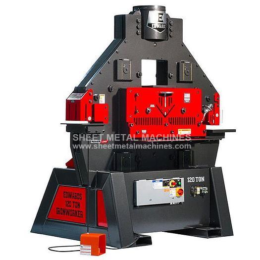EDWARDS 120 Ton Ironworker IW120