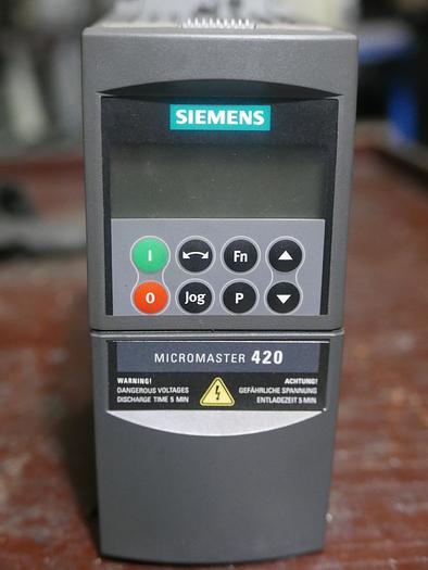 Frequenzumrichter Siemens Micromaster 420 6SE6420-2UD17-5AA1