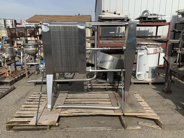 Used APV Stainless Steel Plate Cooler TYPE HX