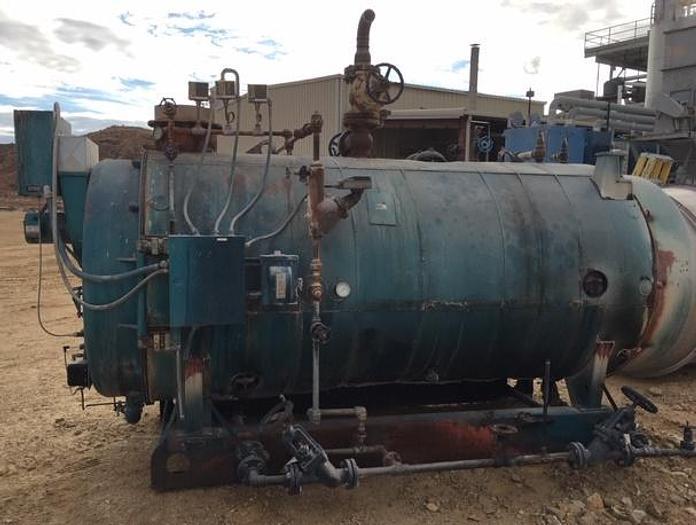 1981 Cleaver Brooks 125 HP 150 PSI Steam Boiler  CB-400-125