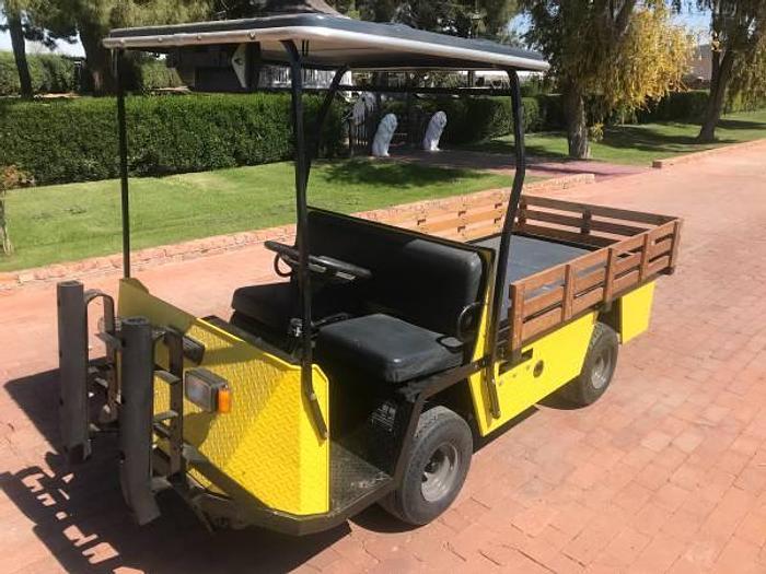 Used EZGO Textron XI875 Industrial Cart