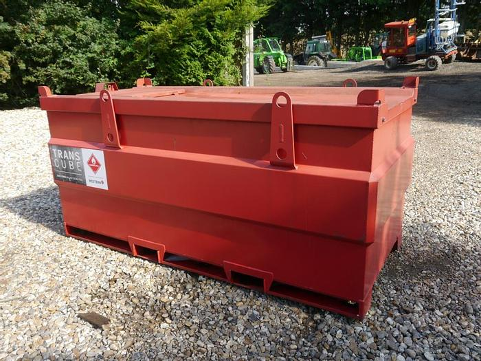 Used Trans Cube Fuel Bowser