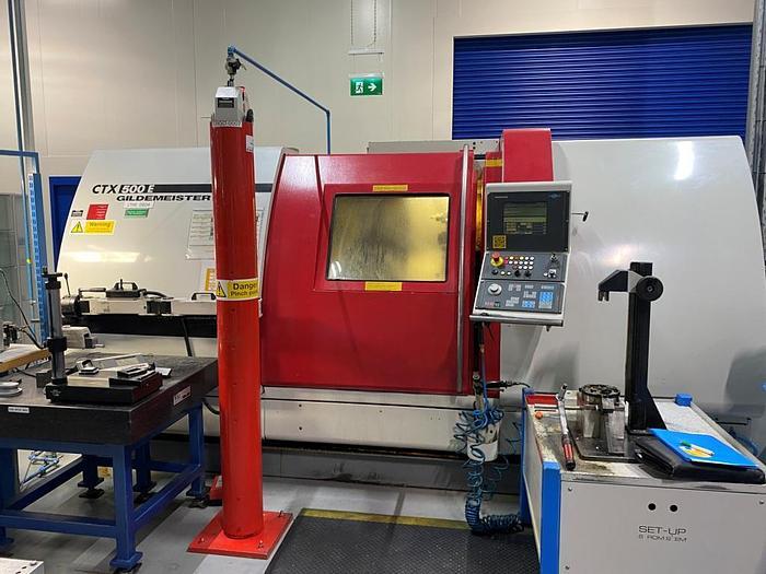 Used 1998 Gildemeister CTX-500 E CNC Lathe