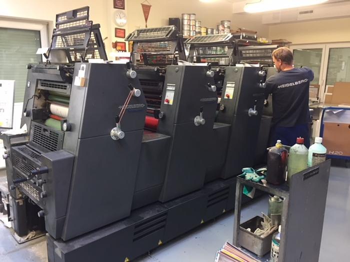 2002 Heidelberg Printmaster GTO 52-4