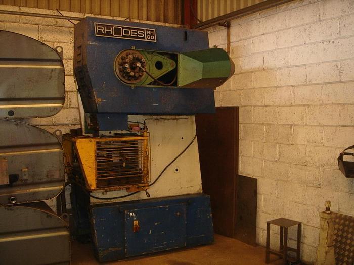 Used Rhodes 80T Eccentric Press