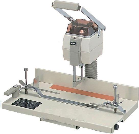 Uchida VS-25 Paper Drill Programmable Single Spindle Hole