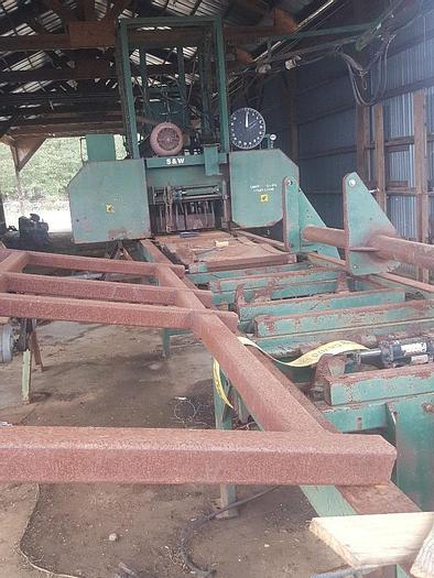 Used Band Sawmills, Hydraulic