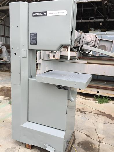 "Used 20"" Delta  Vert. Band Saw"