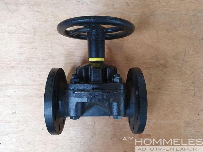 Used Saunders 3027 diaphragm valve