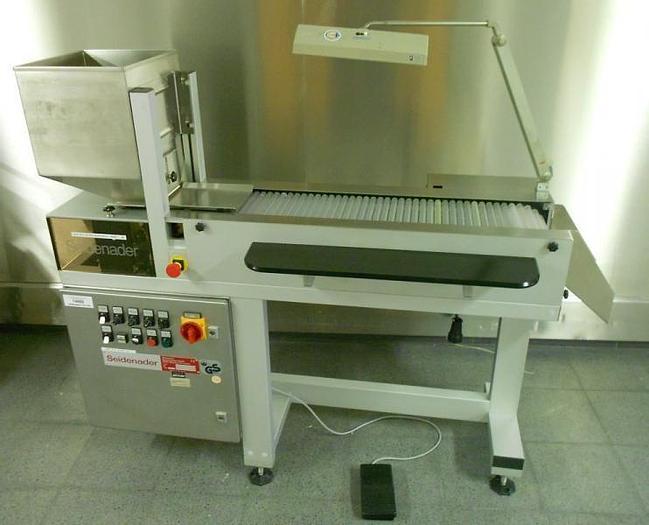 Used U 14989 D - Tablet / Capsule Inspection Belt SEIDENADER V 50-2-LR