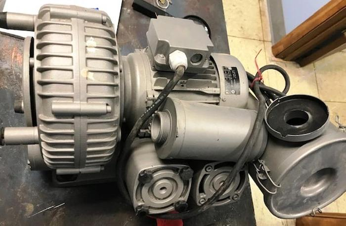 Becker Oiless Pump(Regenerative Blower) Built 2008 #B2285187 Blower is powered by .0.75/0.90 Motor 50/60 cycle
