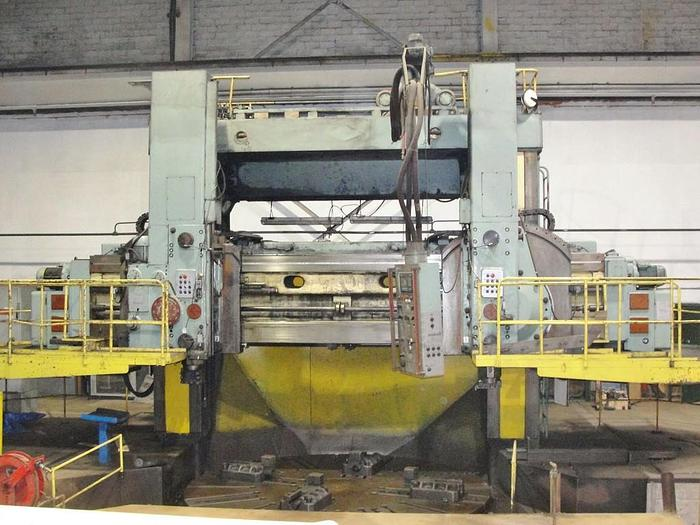 "Used STANKO, KY514F1, 157"" VERTICAL BORING MILL"