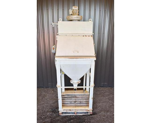 Used USED TOTE/BAG DUMPING STATION WITH DUST COLLECTOR