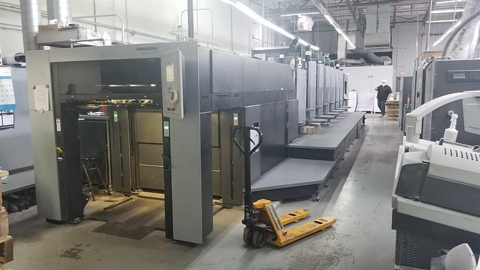 Used 2017 Heidelberg CD102-6+LX3 UV Hybrid