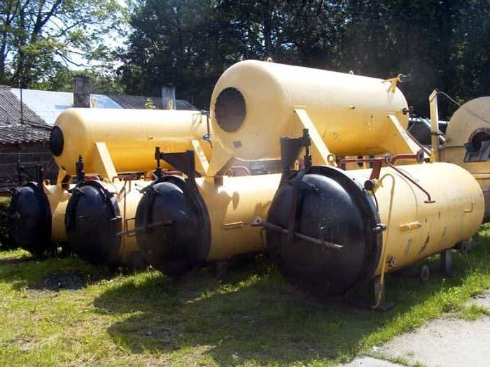 Używane Sterylizator - autoklaw - 2 x po 3 kosze z górnym zasobnikiem wody - WAA 6 z nowym ozaworowaniem i automatyką