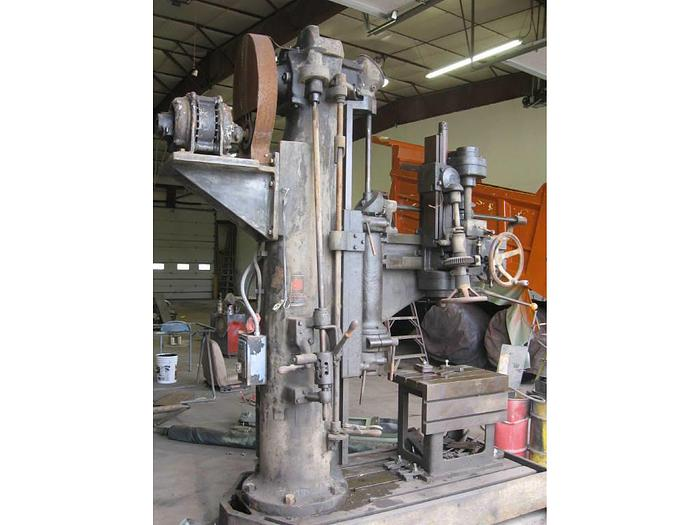 Used 1982 Western Radial Drill Press- Stock #: 1239