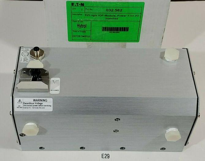 *NEW* Eaton Hytrol 032.582 EZ Logic Industrial Control Power Supply + Warranty!