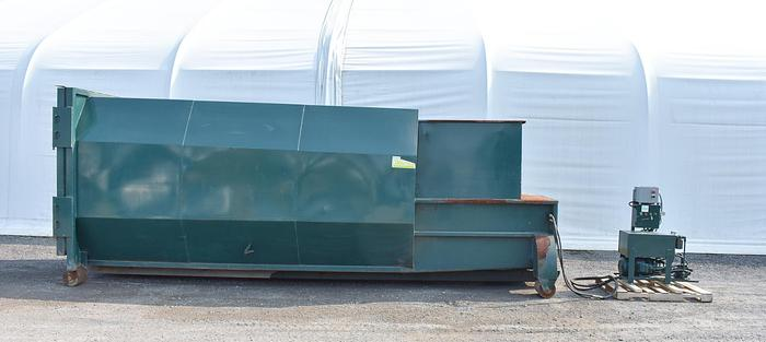 Used 30 YARD ROLL-OFF SELF CONTAINED COMPACTOR WITH HYDRAULIC PACK