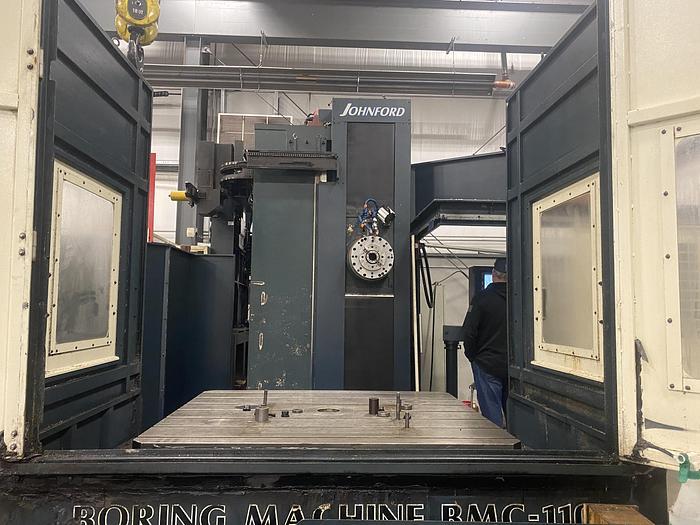 Used Johnford BMC-110 CNC Horizontal Boring Mill
