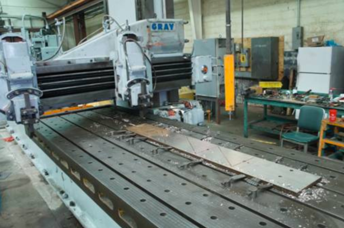 Gray Open-Side Planer