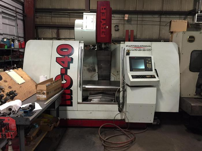 Used Fryer MC-40 2004 CNC VMC with Anilam Control