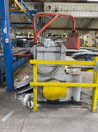 "1981 1/4"" x 14' Wysong 1425 Mechanical Power Squaring Shear"
