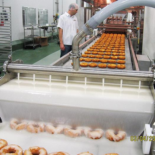 MID-SIZED INDUSTRIAL DONUT PRODUCTION LINES