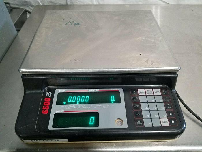 Used Rice Lake Precision Digital Counting Scale DC 120 Counts Pieces 5 LBS. Capacity