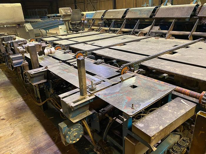 Used Feed conveyor with centring