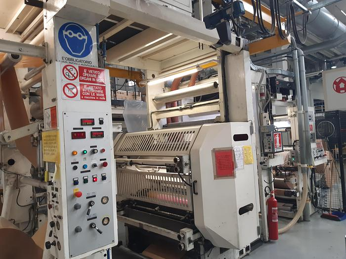 Used UTECO Gold RR 612 - 2 colors flexo with GRAFIKONTROL CR3 automatic register control system