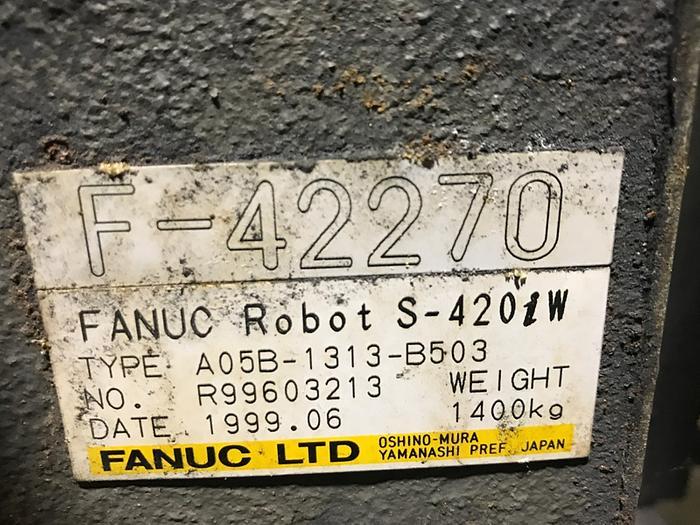 FANUC S420IW 6 AXIS CNC ROBOT