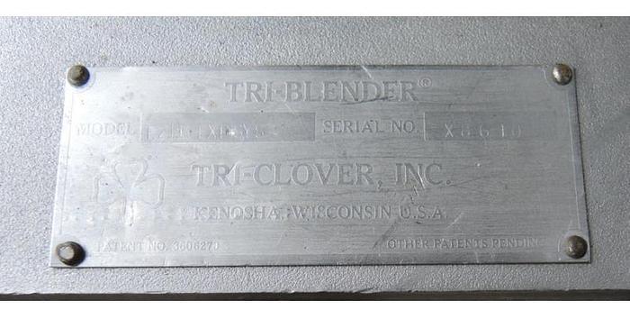 USED TRI HOMO BLENDER, 3 HP, STAINLESS STEEL, SANITARY