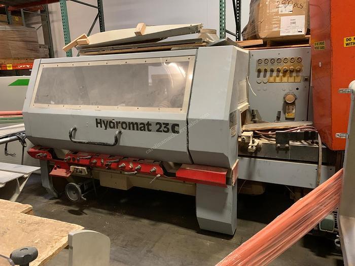 Used Weinig Hydromat 23C 6-head