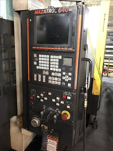 2005 MAZAK MTV 655/80N CNC VERTICAL MACHINING CENTER W/ APC