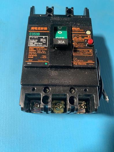 Used fuji electric earth leakage breaker eg53b