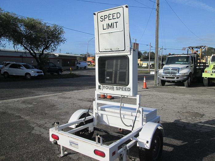 Used Smart Radar Trailer
