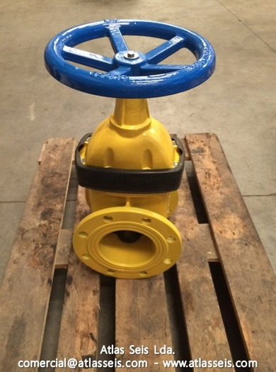 AVK Flanged Gate Gas Valve DN150 PN16
