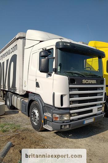 Used 2002 SCANIA R 114 L 380 manual retarder tractor unit
