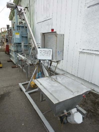 Hapman Flexible Screw Conveyor For Powders #3347