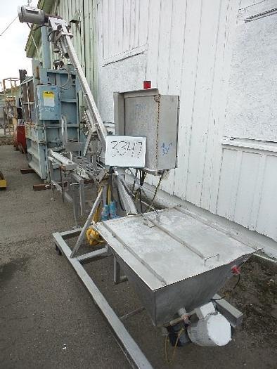 Hapman Hapman Flexible Screw Conveyor For Powders