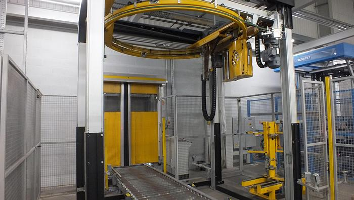 Used 2011 OCTOPUS 1800SF PALLET WRAPPER