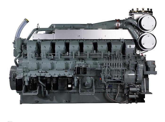 1.5 MW 2007 Used Mitsubishi S16R-PTA2 Diesel Generator Set