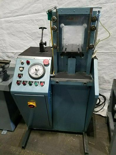 Used 210 Ton Mario DiMaio Hydraulic Coining Press Gold Silver Brass Aluminum