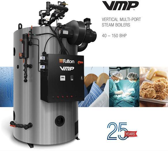 2014 Fulton 40 HP Steam Boiler 2014 VMP 40