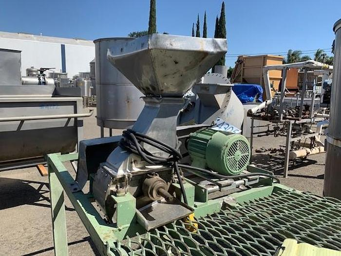 Used Stainless Steel Hamer Mill - Process Chopper