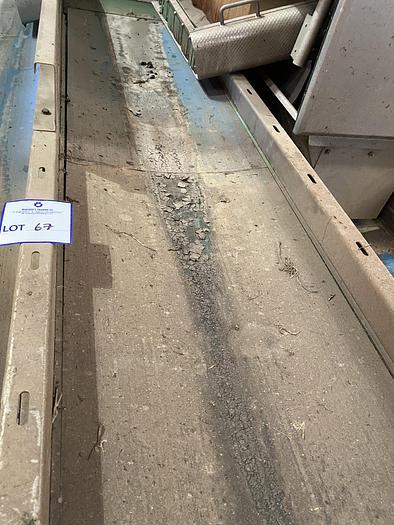 Used Steel Conveyor belt 2.4m L 0.55m W